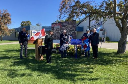 Historic Plaque Placed to Mark CFB Clinton History