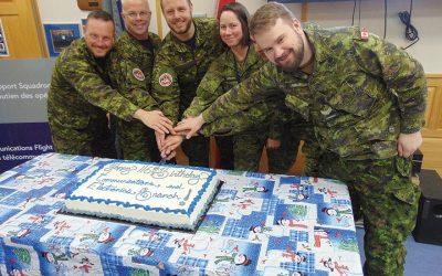4 Wing Telecom Flight celebrates 116th RCCS birthday