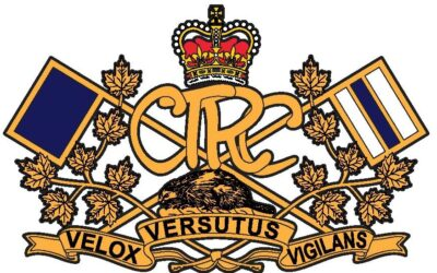 Les insignes de collet du CTRC