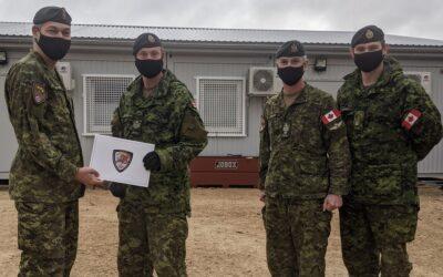 Sgt Bickerstaffe – TFL Commander's Commendation