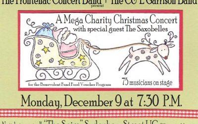 Réservez la date: Un grand concert de Noël pour l'œuvre de charité