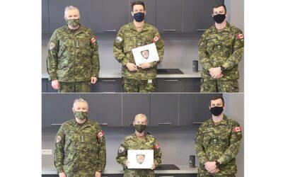 Task Force Latvia: Citations for Cpl Krosse and MCpl Kolinko