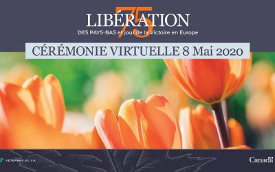 Une cérémonie commémorative virtuelle le 8 mai
