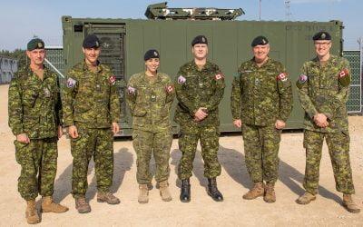 Promotions & Commendations: CIS Squadron Latvia