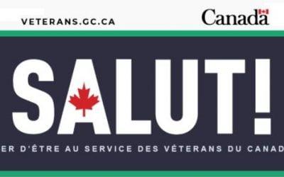 Mise à jour Anciens Combattants Canada juillet 2021