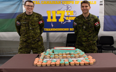 Operation REASSURANCE: 117th C&E Branch Birthday